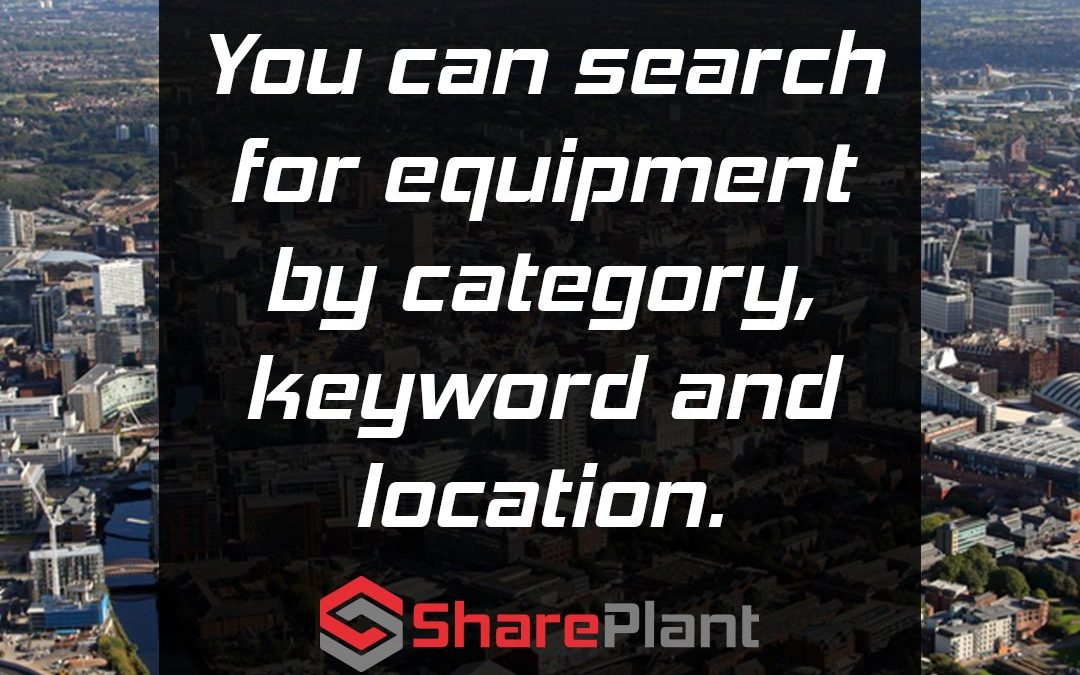 You can find equipment in seconds!