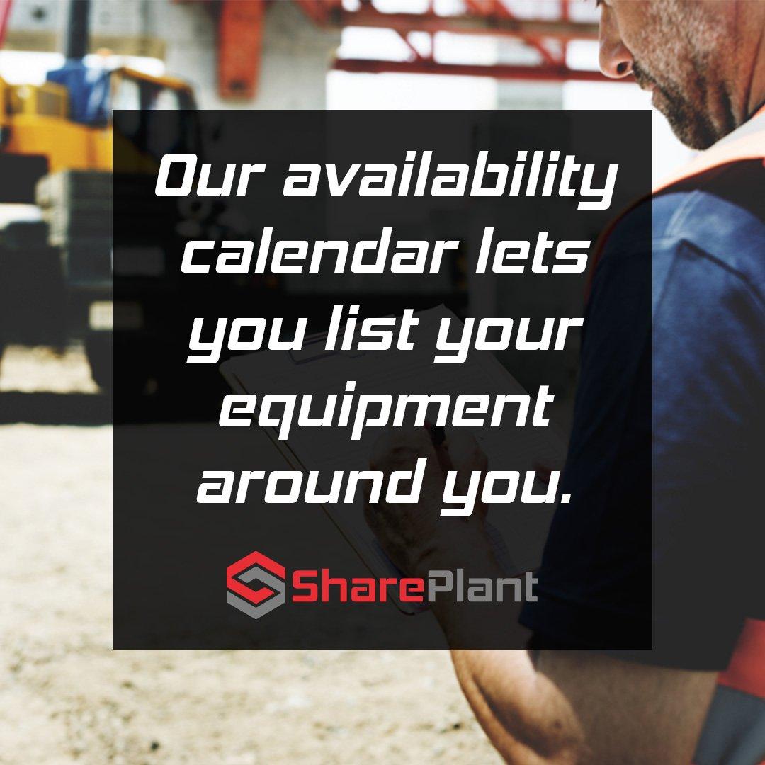You can maximise equipment utilisation & minimise administration.