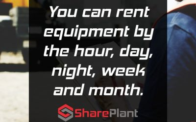 We allow you to list your equipment using a variety of rental units.
