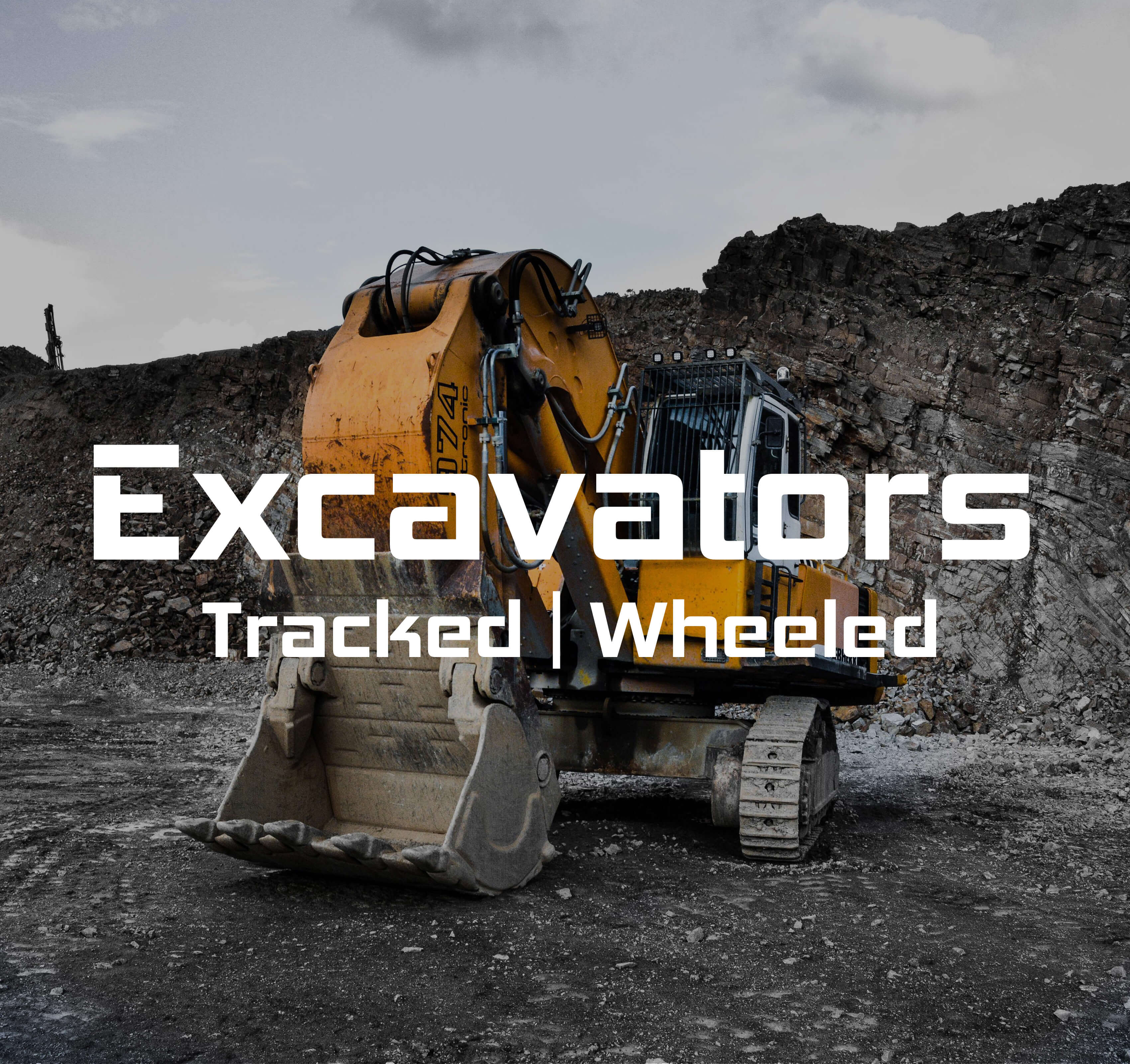 Excavator equipment marketplace - Homepage